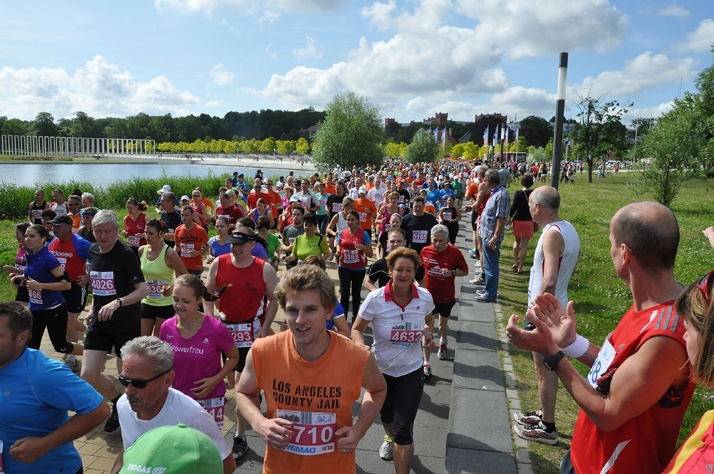 Fünf Seen Lauf in Schwerin
