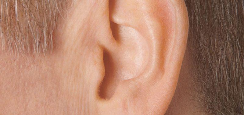 unsichtbares Hörgerät