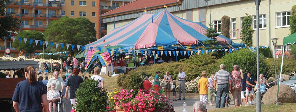 Sommerfest im Wohnpark Zippendorf